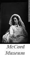 Photograph | Mrs. F.  Hart in wedding dress, Montreal, QC, 1872 | I-70675