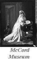 Photograph | Mrs. F.  Hart in wedding dress, Montreal, QC, 1872 | I-99882.1