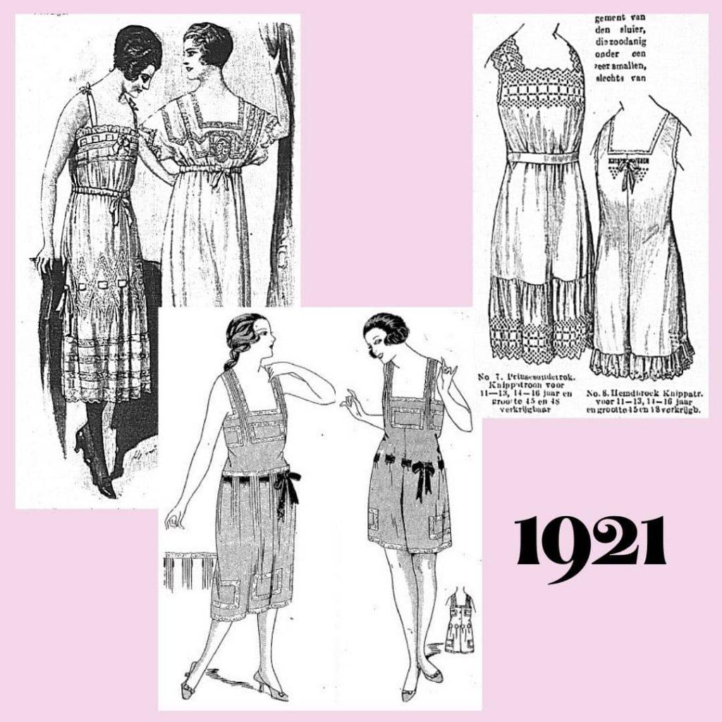 underwear 1921