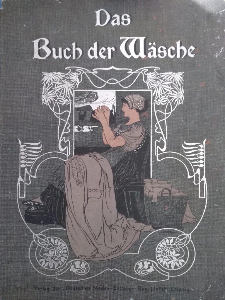 okładka niemieckiegiej książki krawieckiej z końca XIX wieku