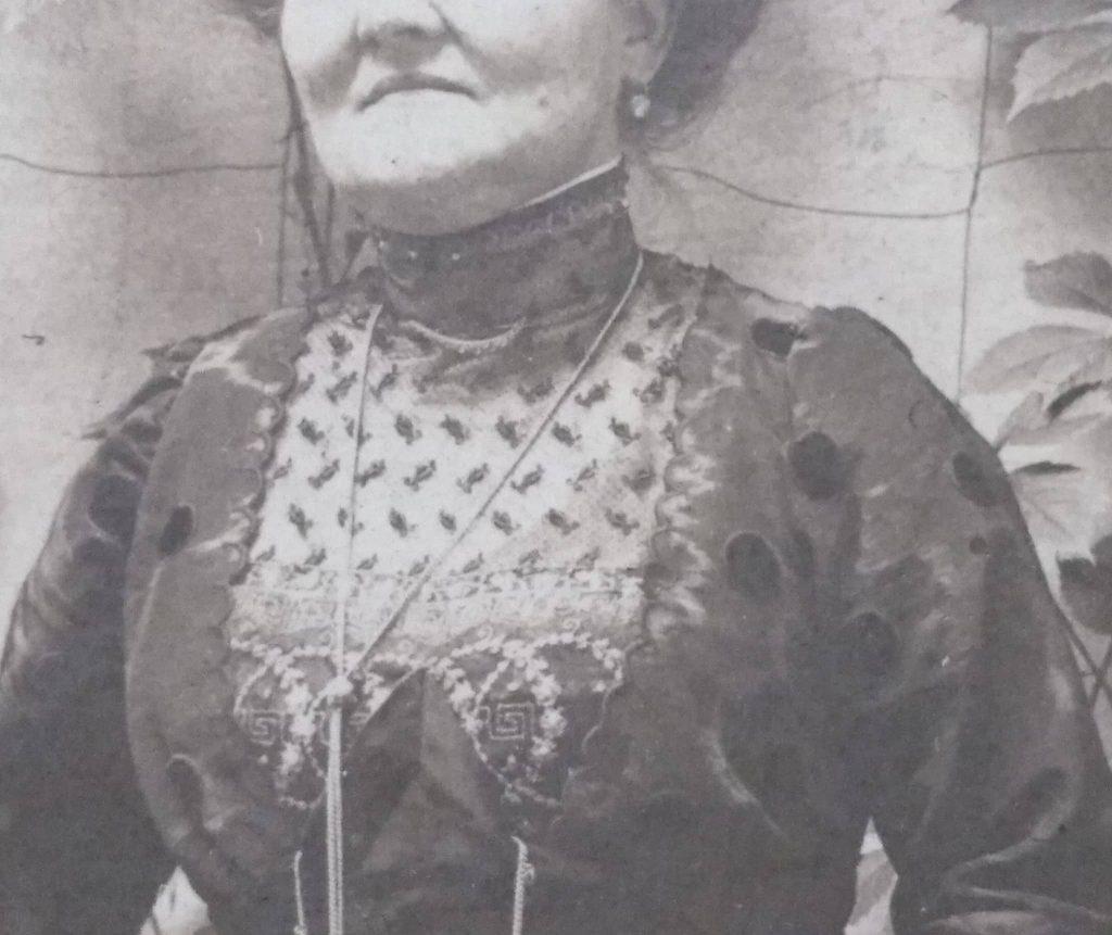 1910s detale stanika sukni