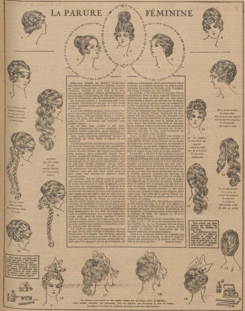 Fryzury 1920 rok