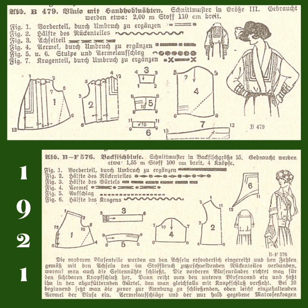 1921 top pattern