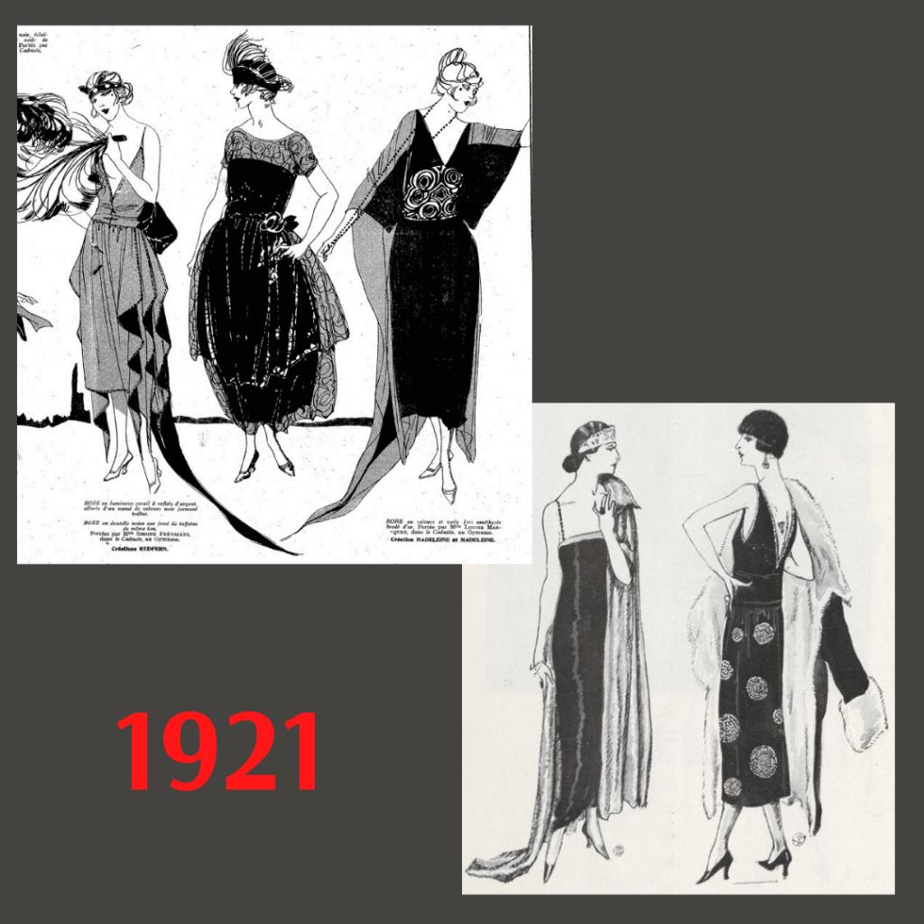 suknie balowe 1921