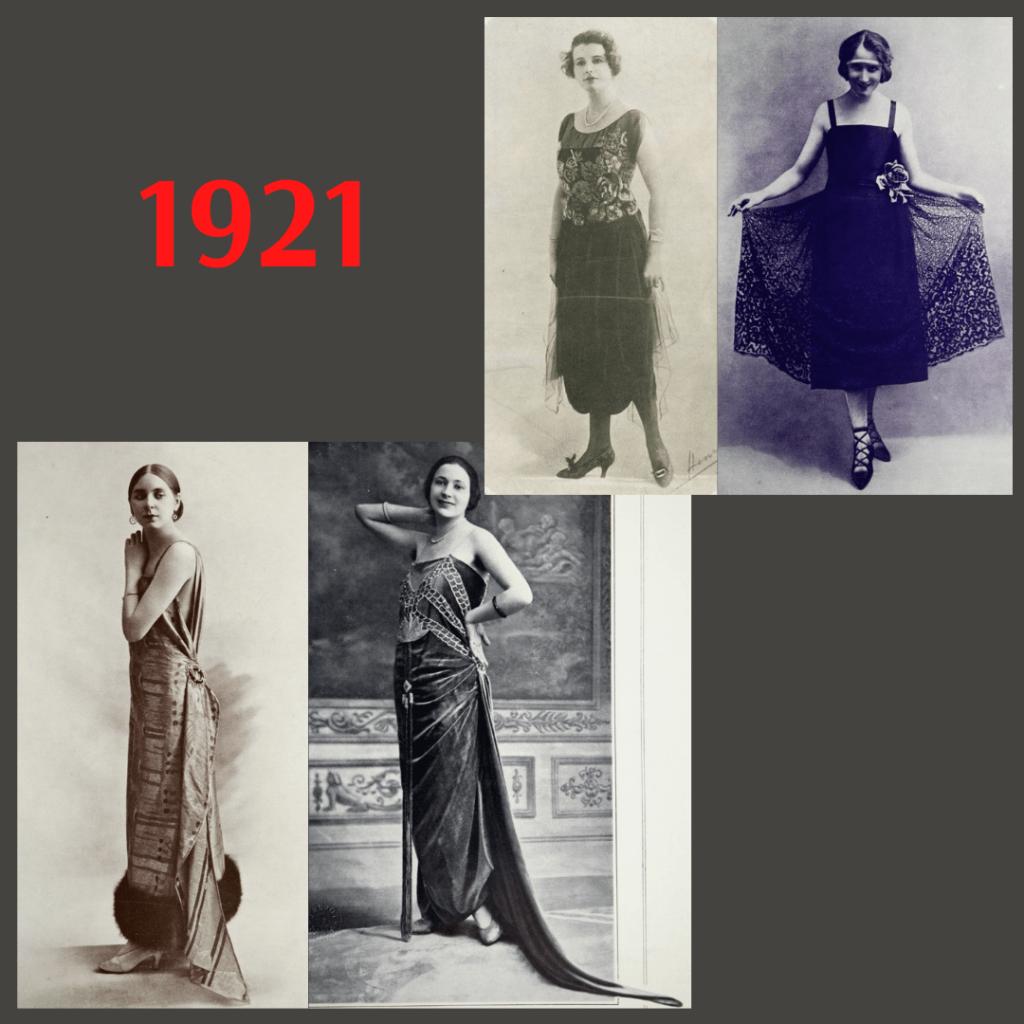 ball dress 1921