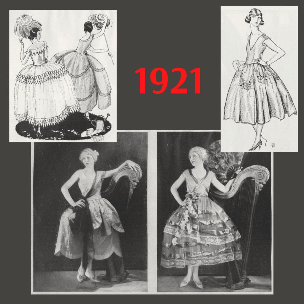 robe de style z 1921 roku