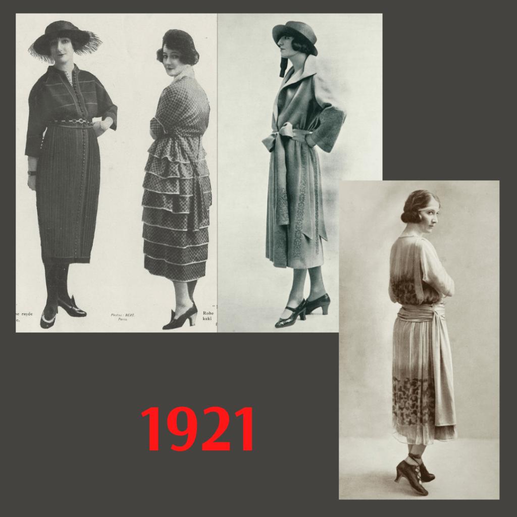 sukienki 1921