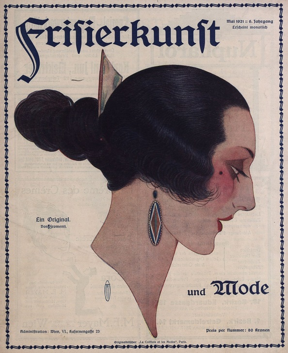 pismo fryzjerskie 1921 rok