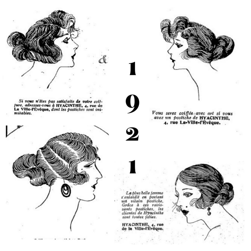 fryzury 1921