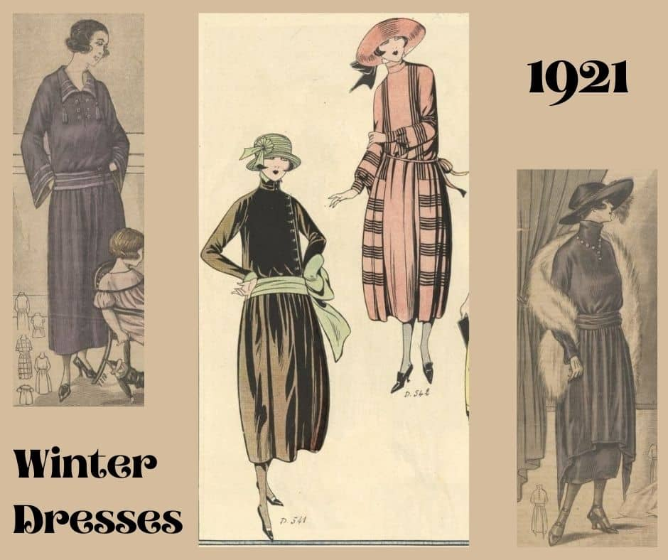 1921 winter dress