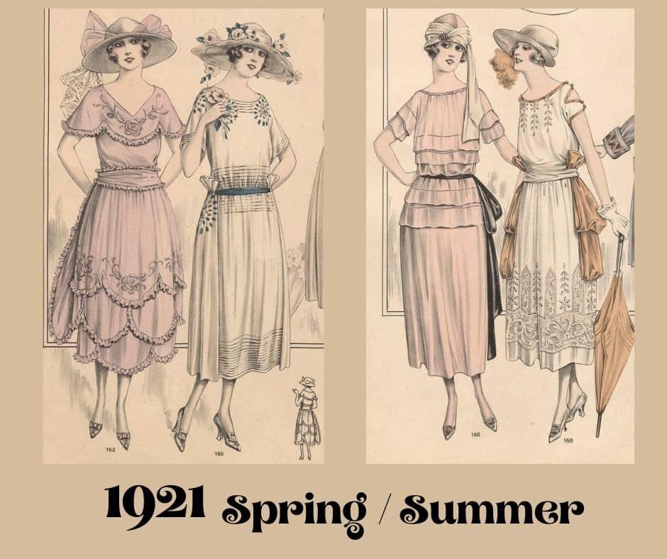 więcej sukienek na lato 1921