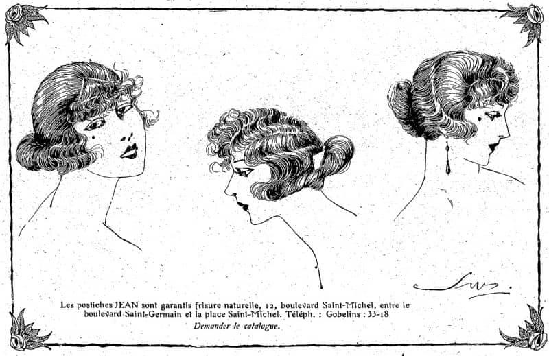 uczesanie 1921