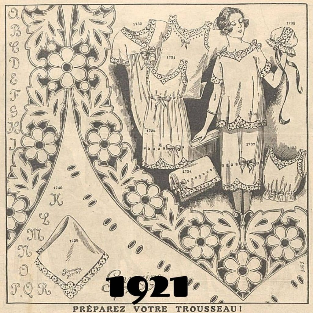 1921 broderie