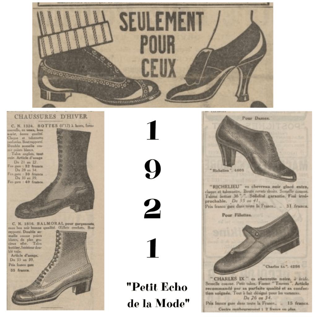 buty 1921 rok