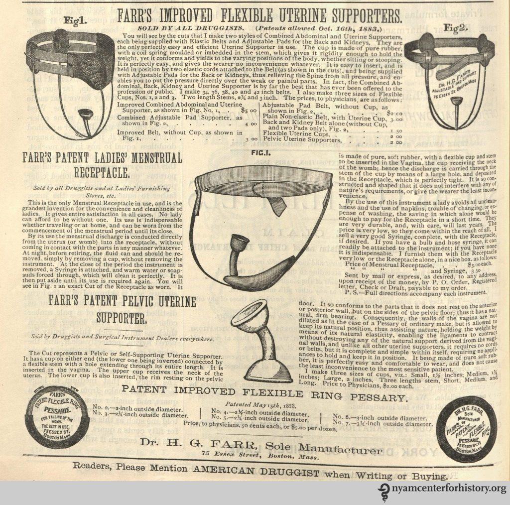 1884 kubeczek menstruacyjny