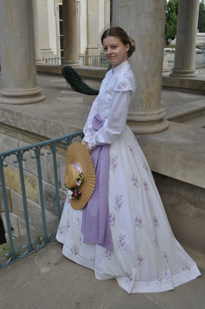 moja rekonstrukcja ubioru z 1867 roku