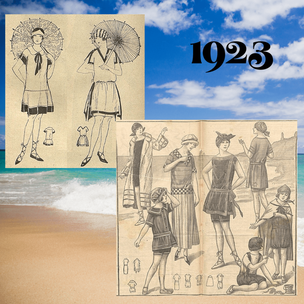 bathing suits 1923