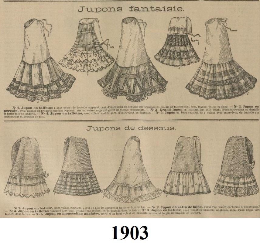 1903 halki pod suknie