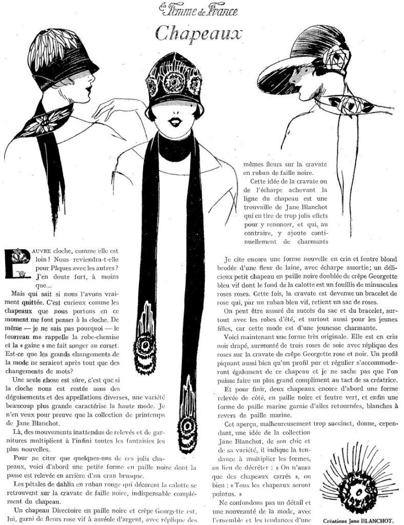 1925 nakrycia głowy