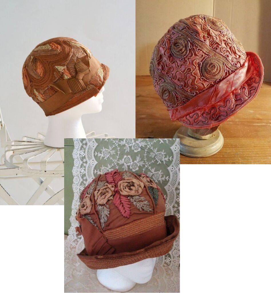 przykłady kasków z lat 20s