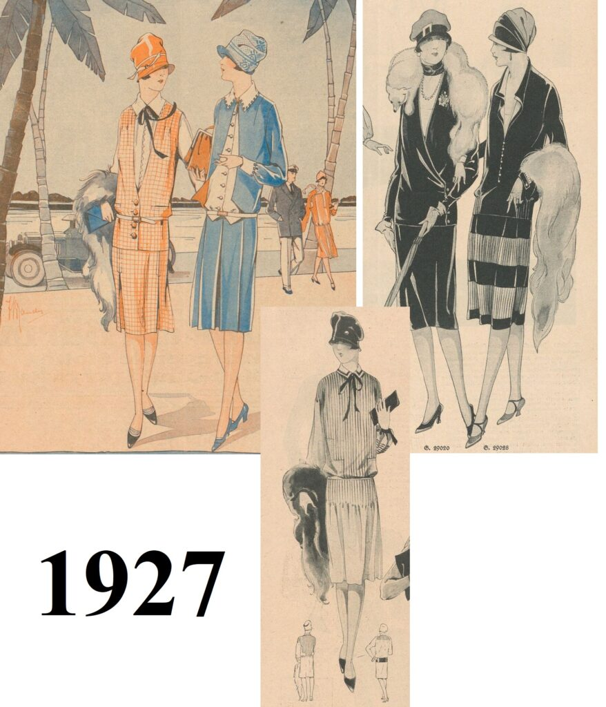 Art Deco etola z lisa latem