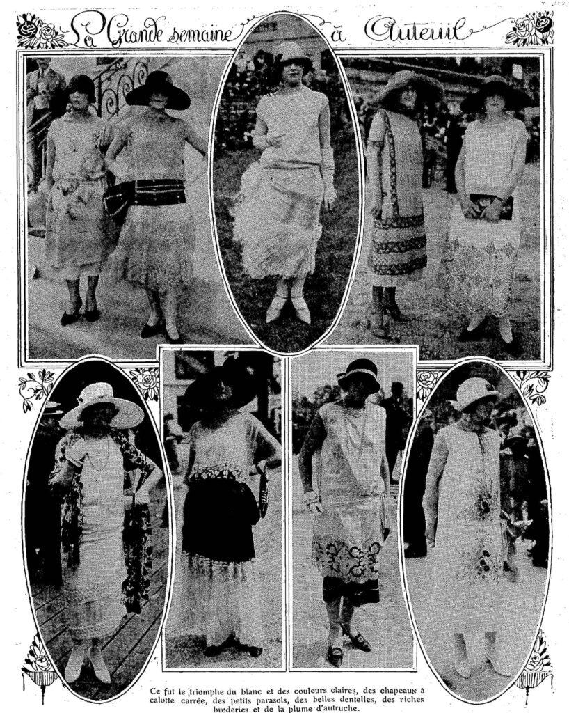 Zdjęcia kobiet z 1924 roku