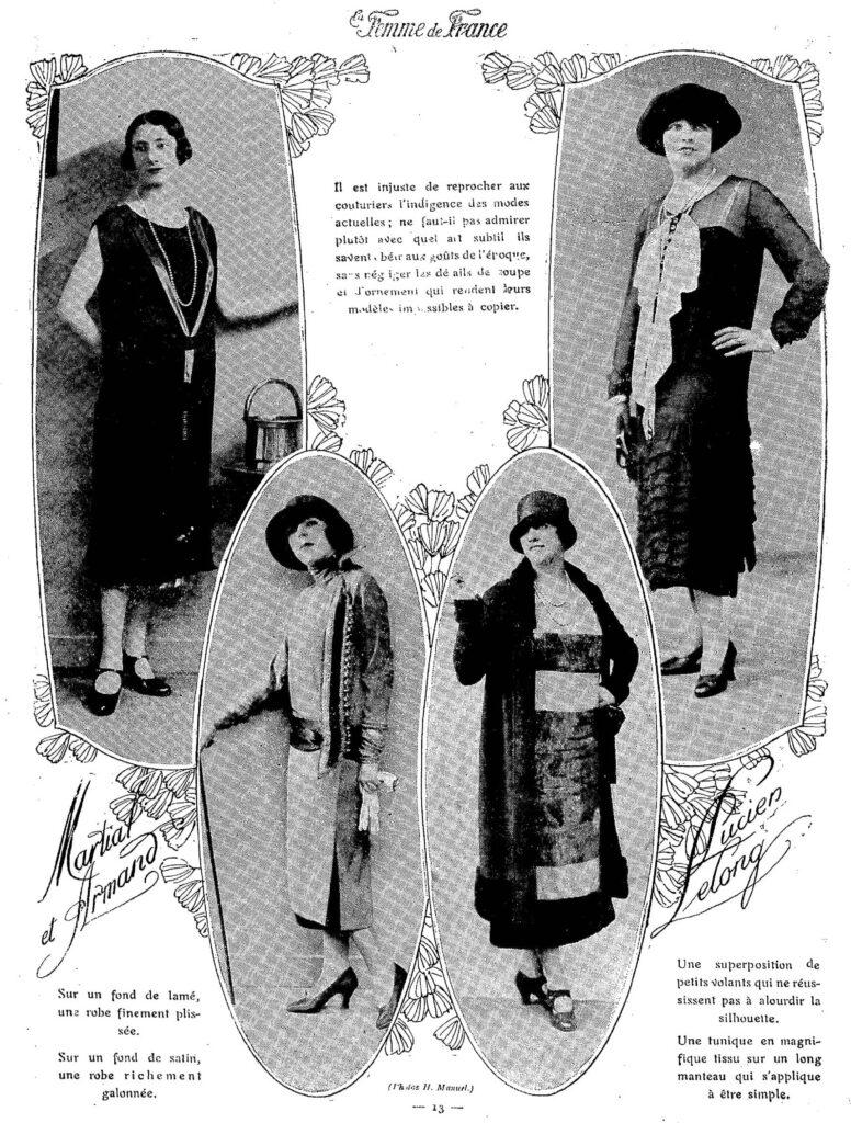 1924 modne kobiety na zdjęciach