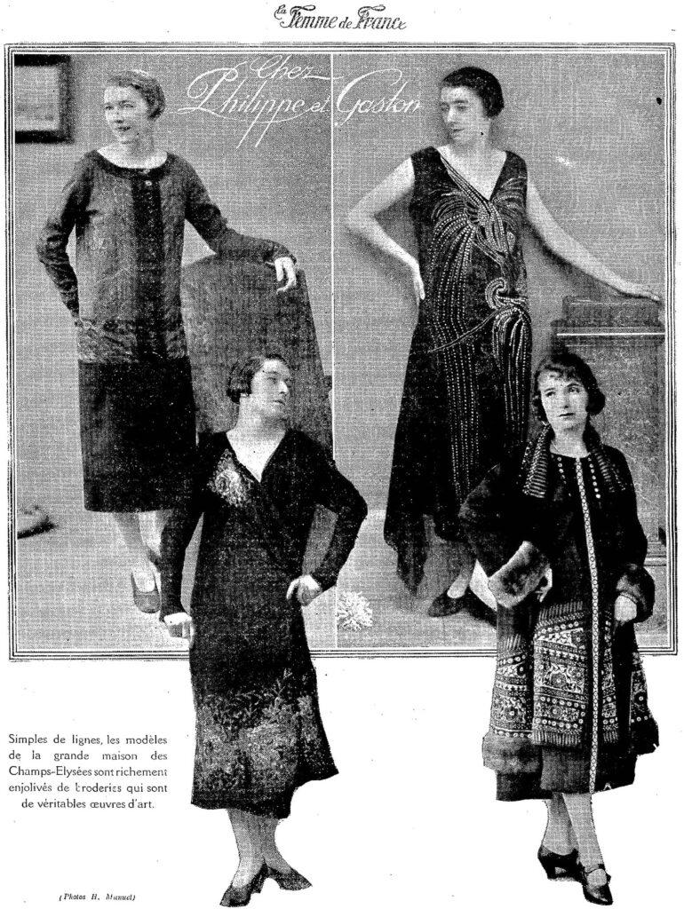 1925 modne kobiety na fotografiach