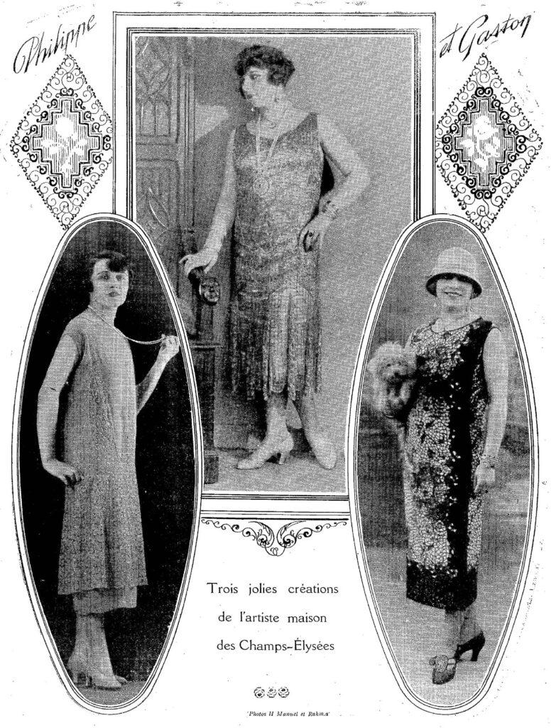 1925 fashionable women
