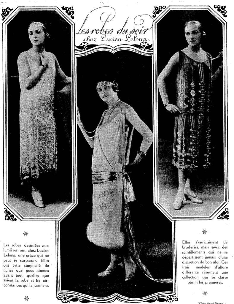 sylwetka kobieca w 1925 roku