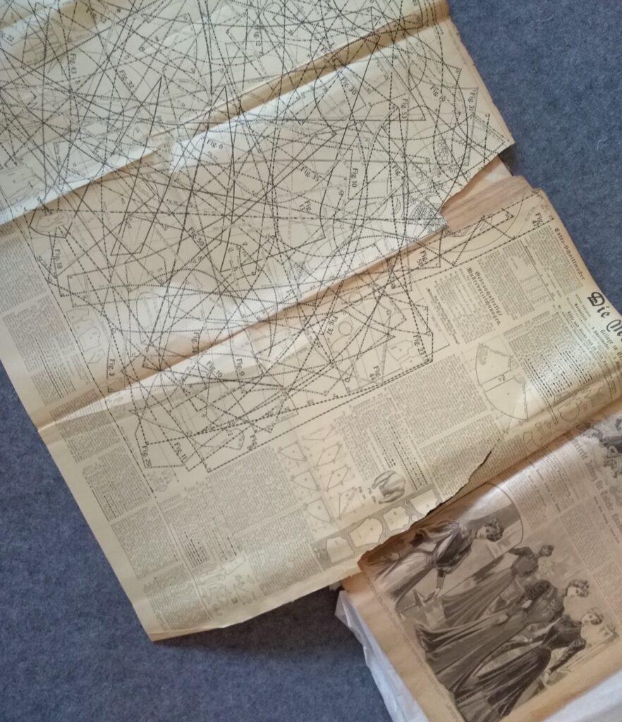 """1905 """"Die Modenwelt"""" pismo z wykrojami"""
