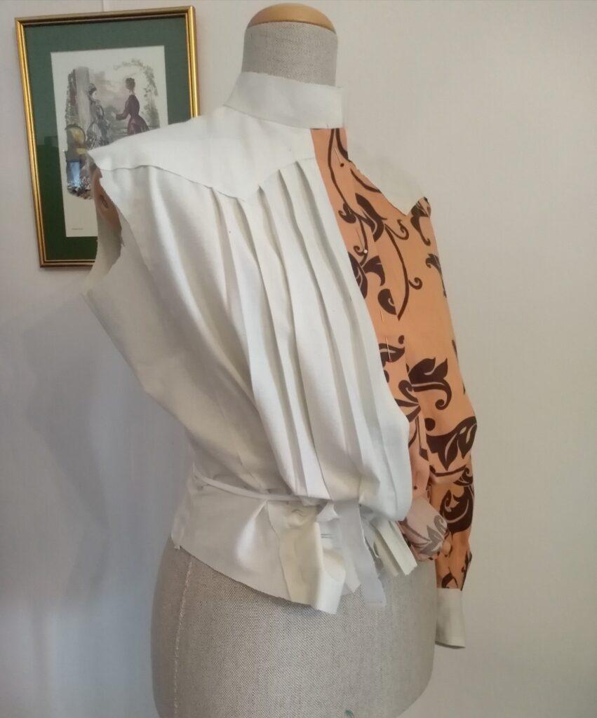 1905 Art Nouveau blouse - mockup