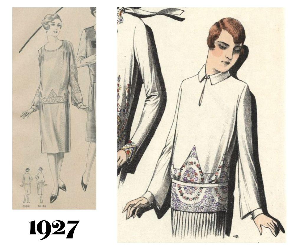 Moda 1927 rok