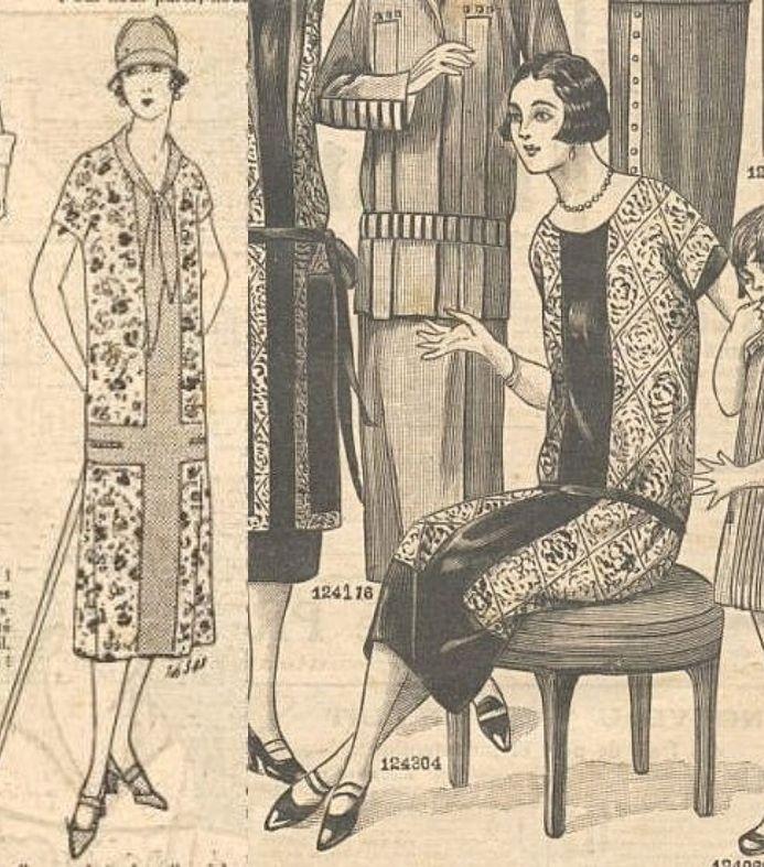 sukienki z 1925 roku
