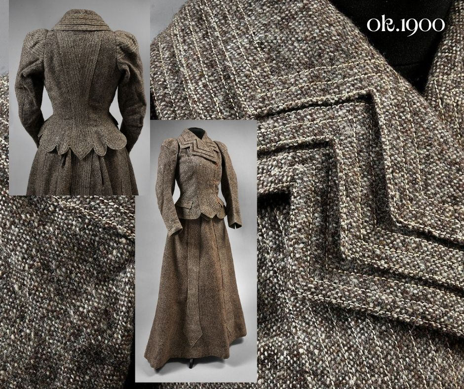 kostium 1900s