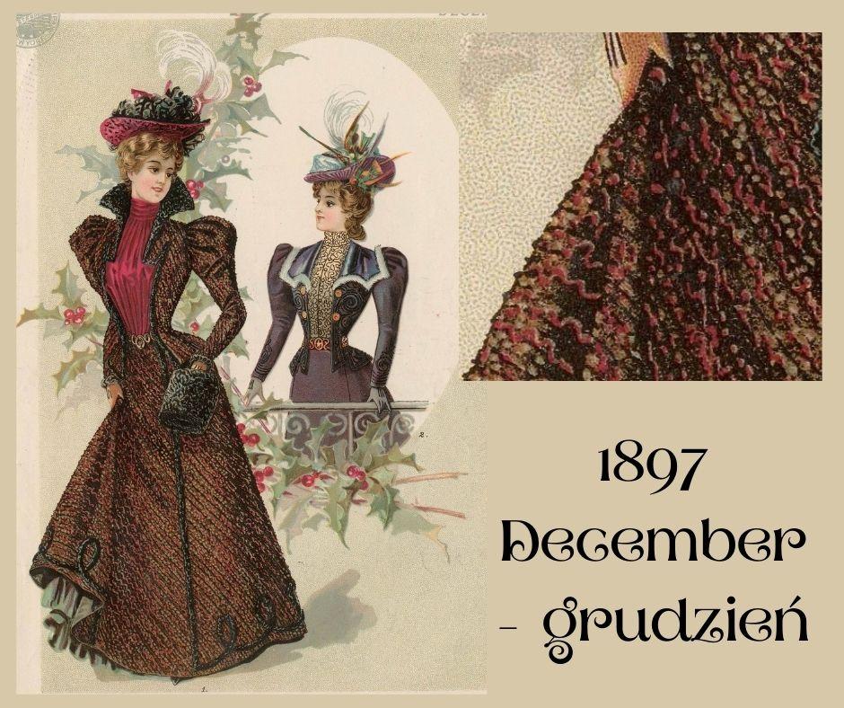 1897 december - wool costume