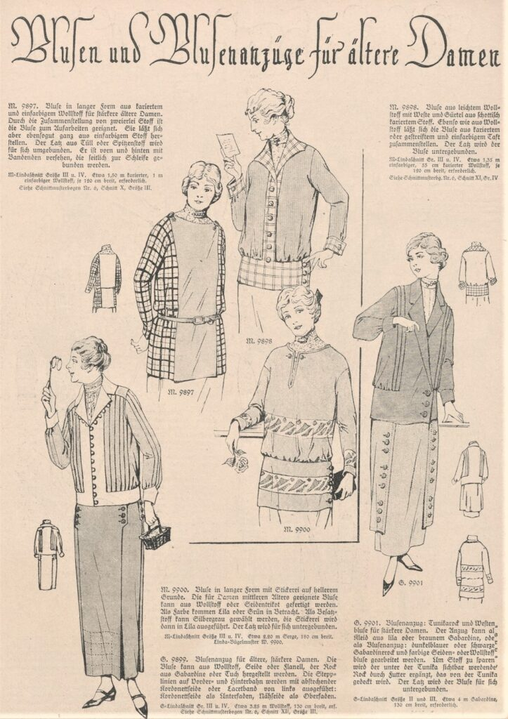 1924 plus size fashion