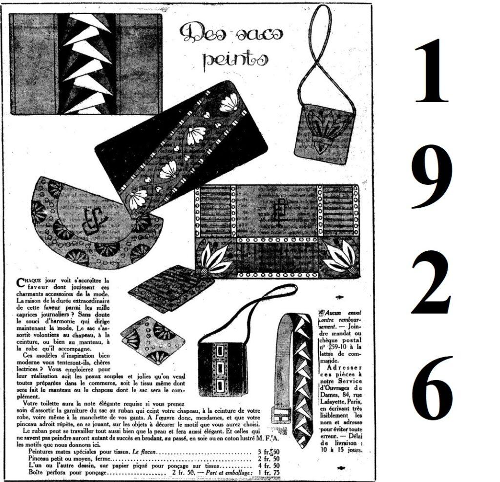 1926 ozdobne torebki