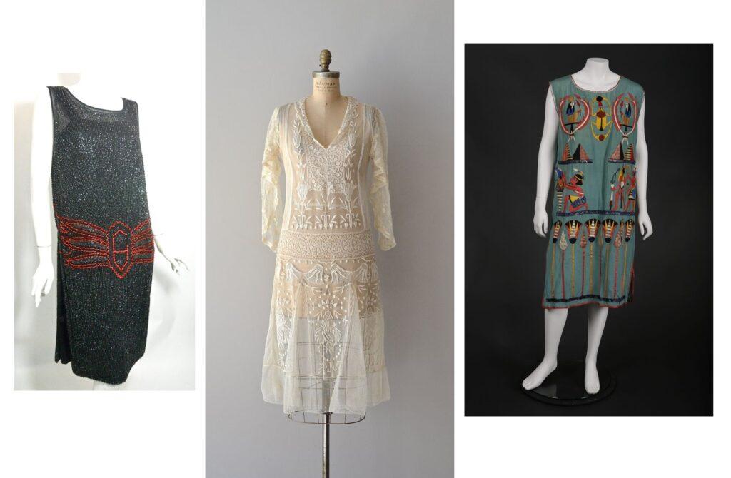 Sukienki z motywami egipskimi