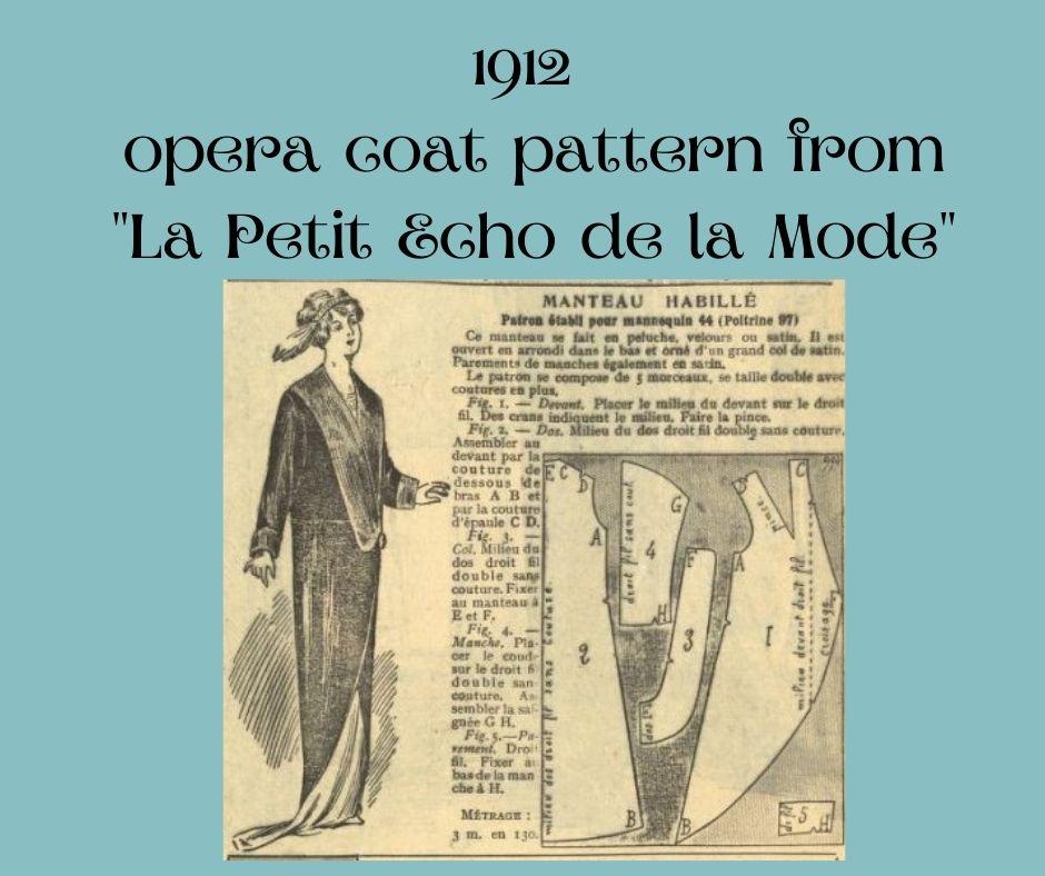 1912 płaszcz-kokon